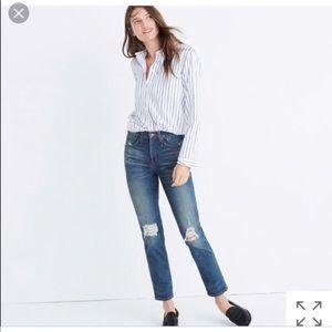 Madewell Slim-Straight Jeans